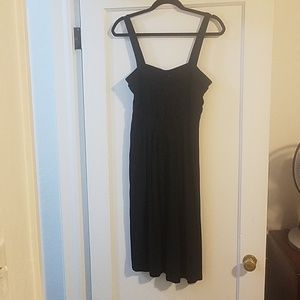H&M women's black dress size 12